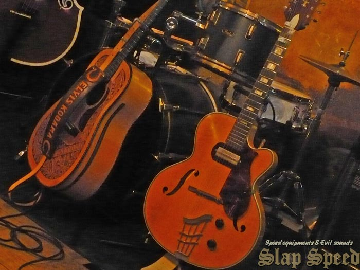 "GUITARS""Big boy SHIRO""&""Elvis Kodama"""