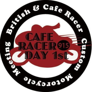"""CAFE RACER DAY 1st"""