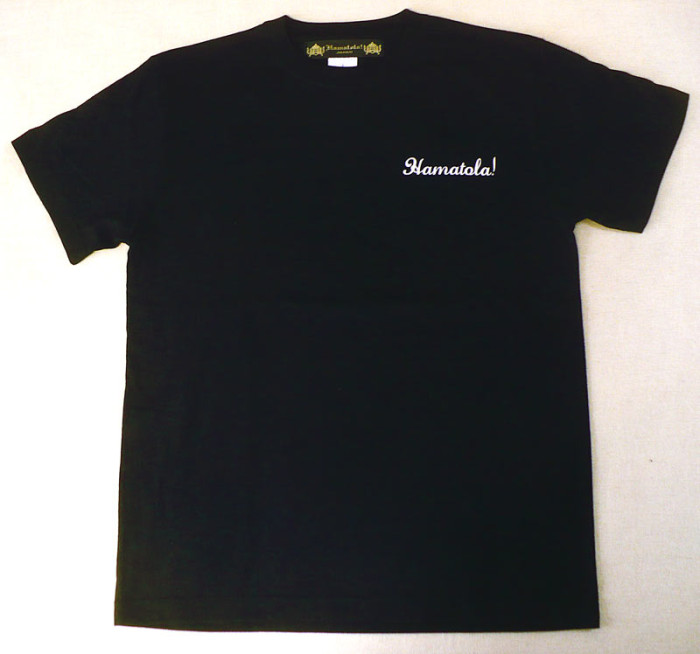 【HAMATOLA!】Jumiping HAMATOLA! Tiger T-SHIRT BLACK