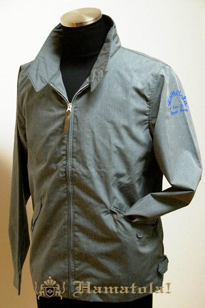 "【HAMATOLA!】Baracuta Type Jacket ""Ton Up Speed Society"" Color=Rat Gray"