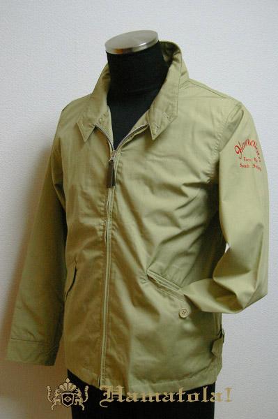 """【HAMATOLA!】Baracuta Type Jacket """"Ton Up Speed Society"""" Color=Sand Khaki"""