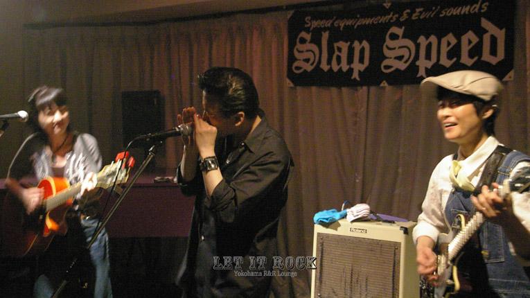 【Lilies】and【Ryuji Yanagiya Blues Harp】 LET IT ROCK