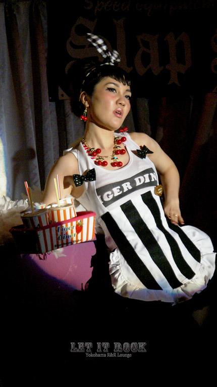 """【Ryuji&The Memphis+Naspy(Burlesque Dancer)】 May.03.2014 """"LET IT ROCK"""""""