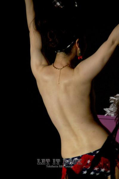 "【Ryuji&The Memphis+Naspy(Burlesque Dancer)】 ""LET IT ROCK"""