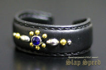 【FLAT FIELD】Studs Bangle BLUE
