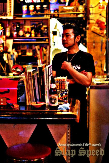 """Atsugi""""Ragtime Cafe GINA"""" Master ONishi."""