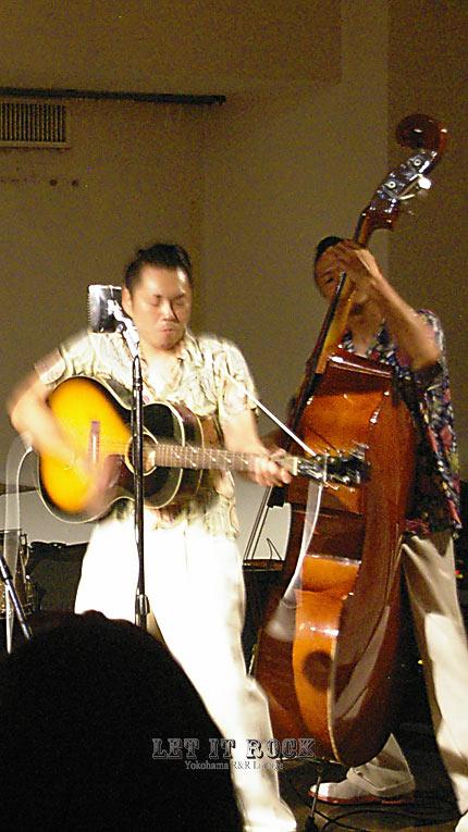 "【RAMJET RAMBLERS】 Yabe&Masa Aug..02.2014 ""LET IT ROCK"""