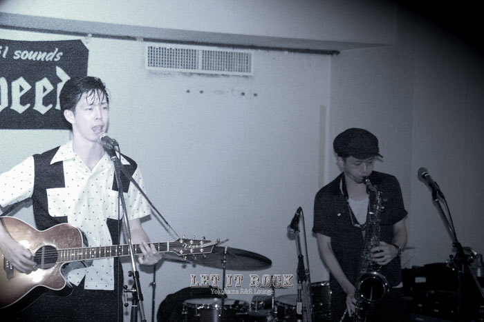 "【MILKY KOBAYASHI(&SHU THE SAXOPHONE)】Sep.06.2014""LET IT ROCK"""