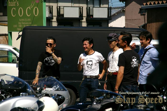 """""""Cafe Racer Day 2nd"""" Sep.14.2014 Mie Japan."""