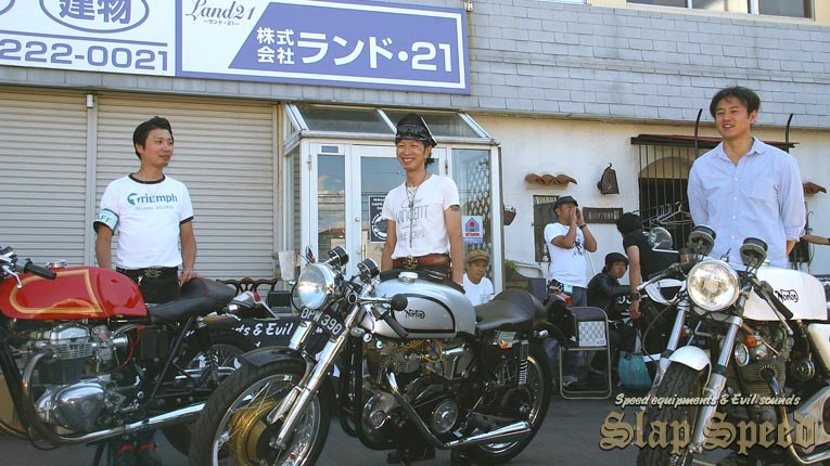 """Cafe Racer Day 2nd"" Sep.14.2014 Mie Japan."
