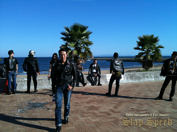 """Cafe Racer Day 2nd"" Sep.14.2014 Mie Japan. Run to Beach."