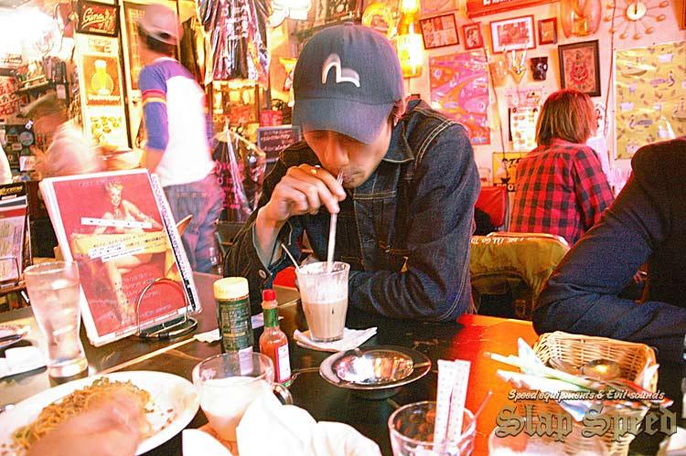 """Atsugi """"Ragtime Cafe GINA"""""""