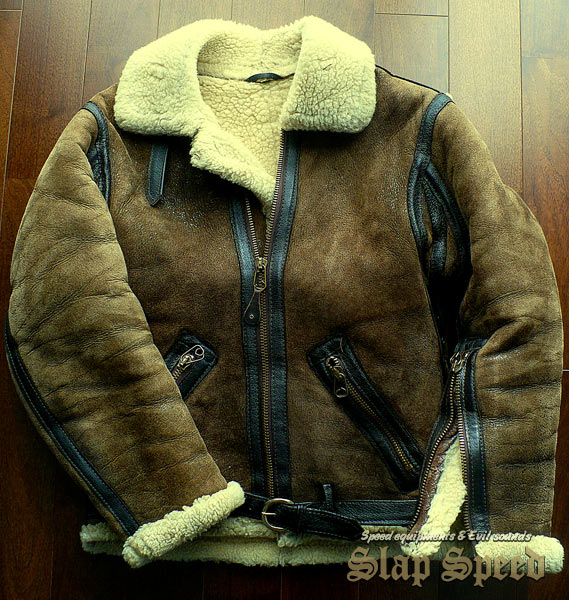 """Brand-unknown R.A.F """"IRVIN"""" Type Jacket"""