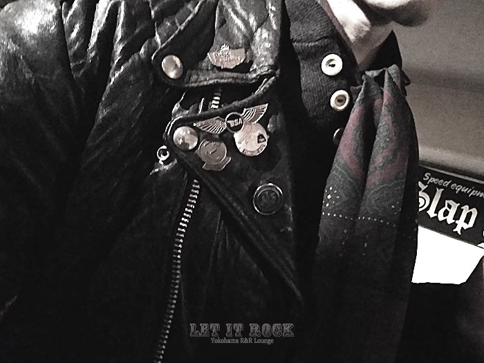 "His Black Leather JKT 【The 59 Rockers】Ryohey at 12.5""LET IT ROCK【SLAP SPEED】"
