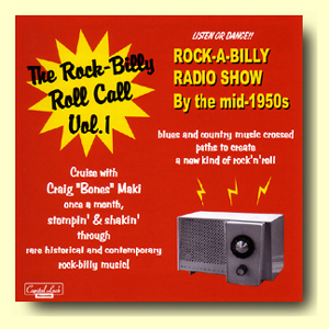 【THE ROCK-BILLY ROLL CALL】CDR V.A