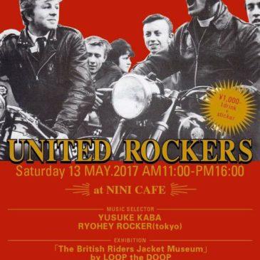 【UNITED ROCKERS】にSLAP SPEED 出店!
