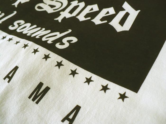 """SLAP SPEED"" BOX LOGO T-Shirts White×Black ""Classic Printing"""