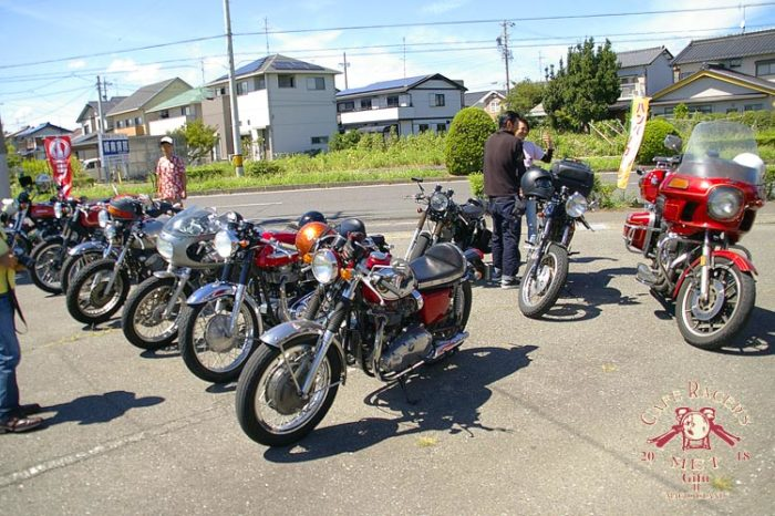 【Cafe Racer's MET Gifu II】Aug.26.2018