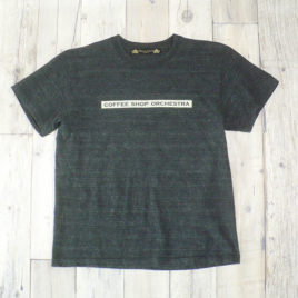 "【Alpha Betti Cafe×HAMATOLA!】collab Line""Coffee Shop Orchestra"" T-Shirts (heather Charcoal)"