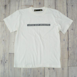 "【Alpha Betti Cafe×HAMATOLA!】collab Line ""Coffee Shop Orchestra""   T-Shirts (Off White)"