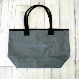"【Alpha Betti Cafe×HAMATOLA!】collab Line ""Coffee Shop Orchestra""  Active Tote Bag (Carcoal)"