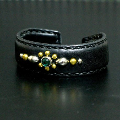 FF Studs Bangle-GREEN