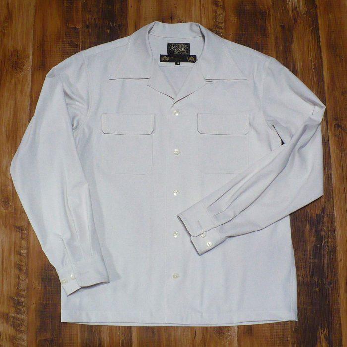 【GOOD ROCKIN'】×【HAMATOLA!】HTG-201 Two Flap Hand Stitch L/S Shirts IVORY