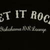 "【LET IT ROCK】 Women's T-Shirts -WHITE- Front ""Classic Print"""