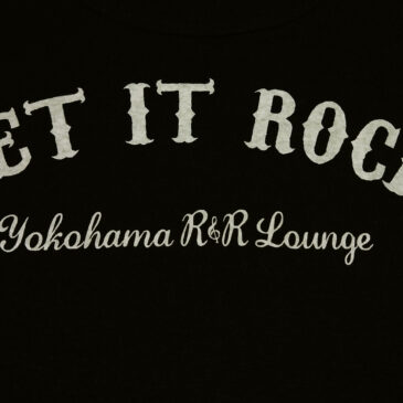 """LET IT ROCK"" T-Shirtsリリース"