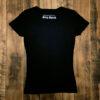【LET IT ROCK】 Women's T-Shirts -BLACK- Back View