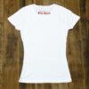 【LET IT ROCK】 Women's T-Shirts -WHITE- Back View