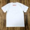 【LET IT ROCK】Vintage Cotton T-Shirts WHITE Back view
