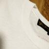 【LET IT ROCK】Vintage Cotton T-Shirts -WHITE- Neck 2Needles.