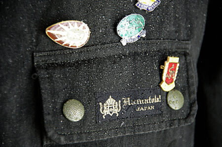 """【HAMATOLA!】""""HUNTER LIGHT"""" Liquid Proof ※Without Pin Badges ピンバッジは付属しません"""