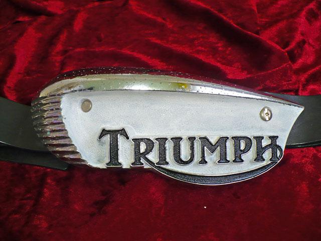 TRIUMPH Tank Badge Eyebrow