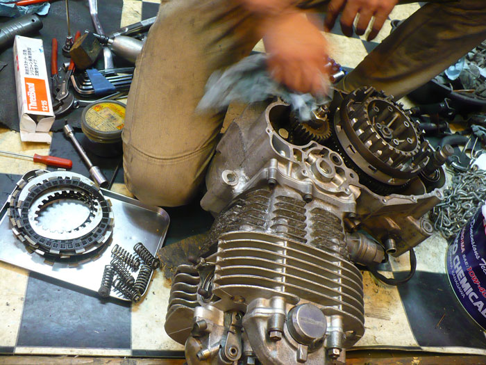 SR Engine Overhaul Clutch,