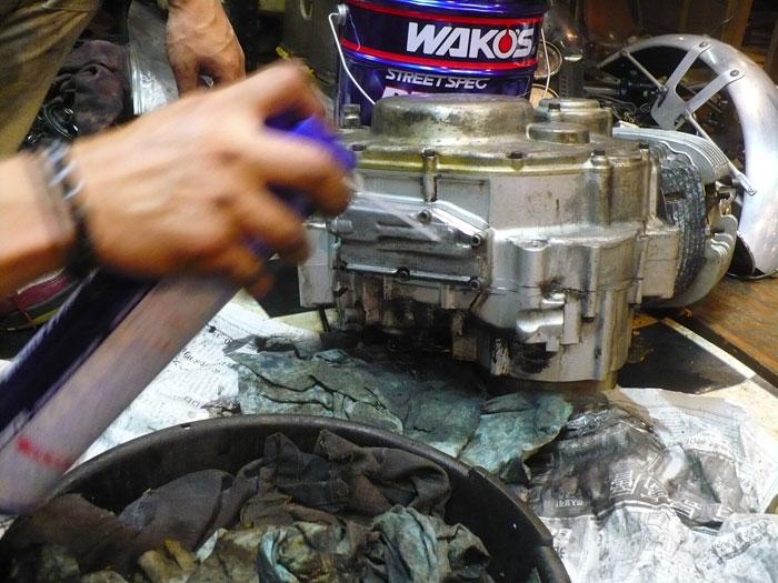 SR Engine Washing.