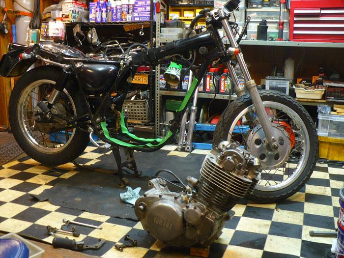 SR Engine Overhaul Finish.