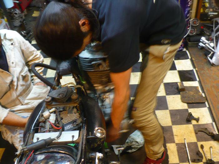 SR Engine Mount to Frame.