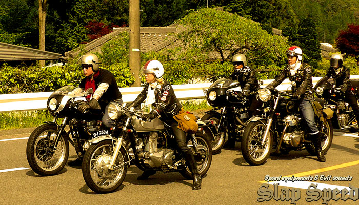 "Run the Bikes to ""ROCKER MEET Vol.1"""